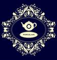Porcelain vector image