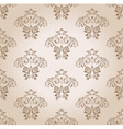 seamless wallpaper curves vintage background vector image vector image