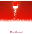 christmas and new year wallpaper vector image vector image