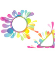 Watercolor Splotch Design vector image