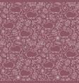 floral easter pattern vector image