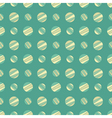 seamless pattern with colorful dots vector image vector image