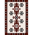 Carpet with Hungarian motifs vector image