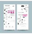 corporate banner - template vector image
