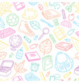 seamless background pattern wallpaper texture vector image