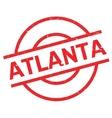Atlanta rubber stamp vector image