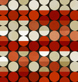 abstract red circle seamless vector image