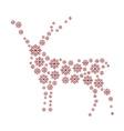 Reindeer isolated vector image