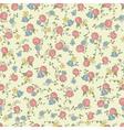 Retro floral seamless vector image vector image