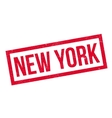 New York rubber stamp vector image