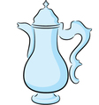 Coffeepot vector image