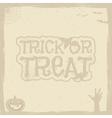 Happy Halloween Poster template with holiday vector image