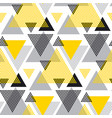 yellow and black creative repeatable motif with vector image