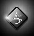 Coffee cup sign modern design vector image vector image