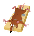 A Rat in the Trap vector image