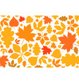 leaf autumn vector image
