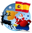 Merry Christmas Spain vector image