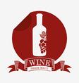 best wine design vector image