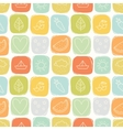 Seamless simple summer pattern vector image