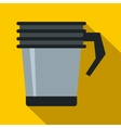 Thermo cup icon flat style vector image