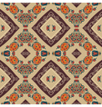 Floral seamless pattern in tribal style Ethno vector image
