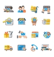 Shopping E-commerce Icon vector image