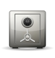 Security safe vector image vector image
