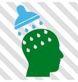 Brain Washing Icon vector image