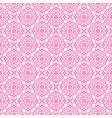 korean traditional pink flower pattern background vector image