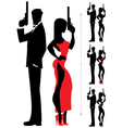 Spy couple 3 vector