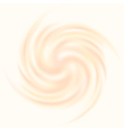 Creamy swirl vector image