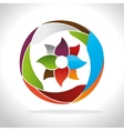 emblem icon design vector image
