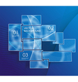 Background blue abstract website pattern vector image