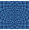Geometric circular flower background illus vector image