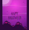 style collection halloween greeting card vector image