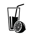 juice icon vector image