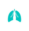 lungs solid icon organ and part of body vector image