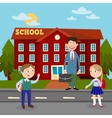 Back to School Education Concept vector image