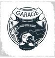 garage grinder sprey gun vector image