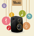 Music and Sound design vector image