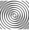 Double Spiral Background Whirlpool Optical vector image vector image