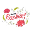 Easter spring card vector image