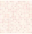 rose polka dot pattern seamless background vector image