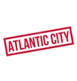 Atlantic City rubber stamp vector image