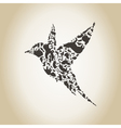 Bird an animal vector image vector image