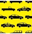 Car seamless pattern vector image