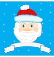 Festive Santa Claus vector image