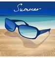 01 Sunglasses Sea vector image