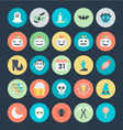 Halloween Icons 3 vector image