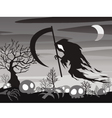 halloween Angel of Death vector image